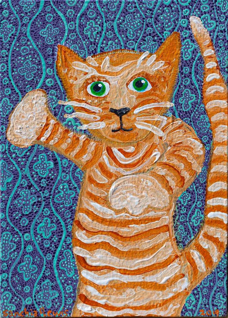 The Pugilist Cat