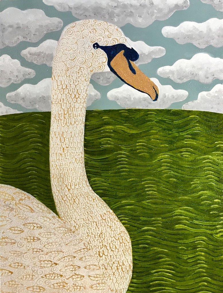 The Peckham Rye Swan