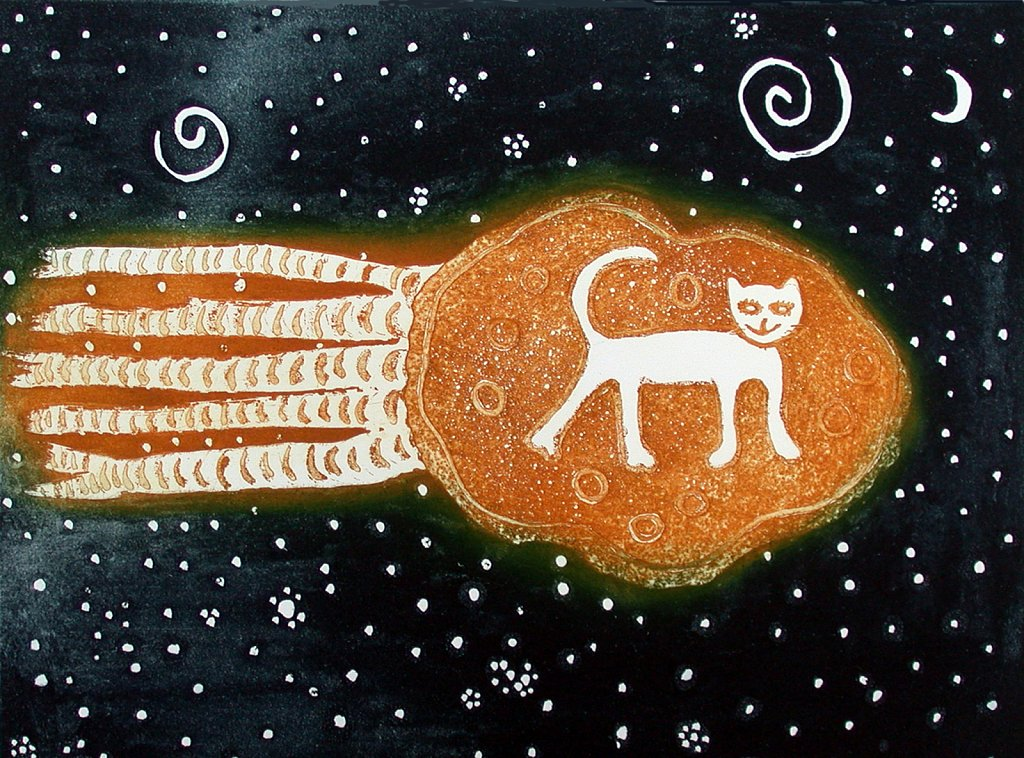 Cat on a Comet