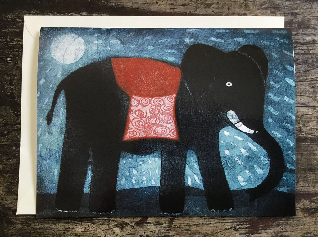 Elephant in the Moonlight
