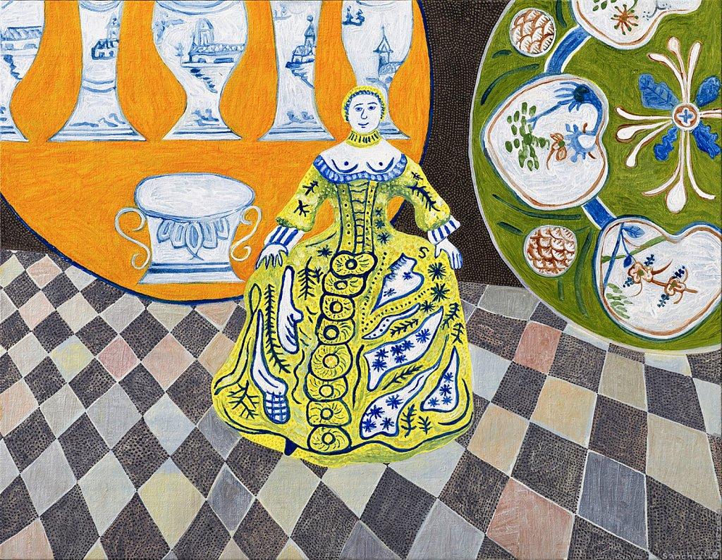 Delft Lady